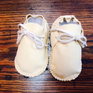 Infant Large Plain Moccasins